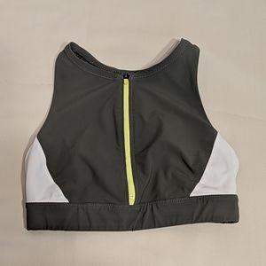 Athleta Zip-front Bikini Top
